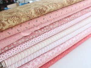 Выставлены новые ткани на распродажу!. Ярмарка Мастеров - ручная работа, handmade.