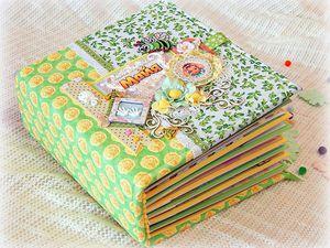 Детский скрап альбом для девочки Майи. | Ярмарка Мастеров - ручная работа, handmade