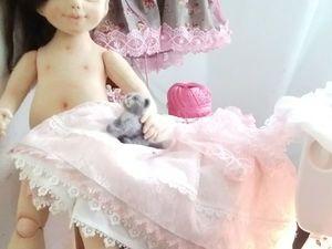 Выкройка тела для куклы ростом 50 см с объемной попой. Ярмарка Мастеров - ручная работа, handmade.