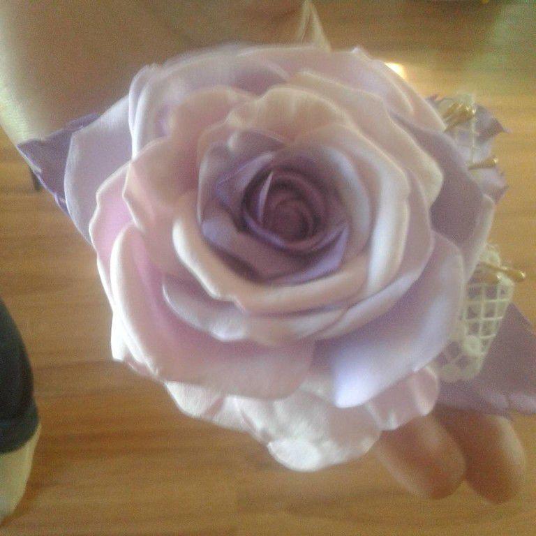 фоамиран, мастер-класс по фоамирану, мк в астрахани, цветы из фоамирана, цветок-брошь