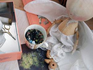 Работа над образом: мастер-класс по созданию текстильной куклы. Часть 2. Ярмарка Мастеров - ручная работа, handmade.