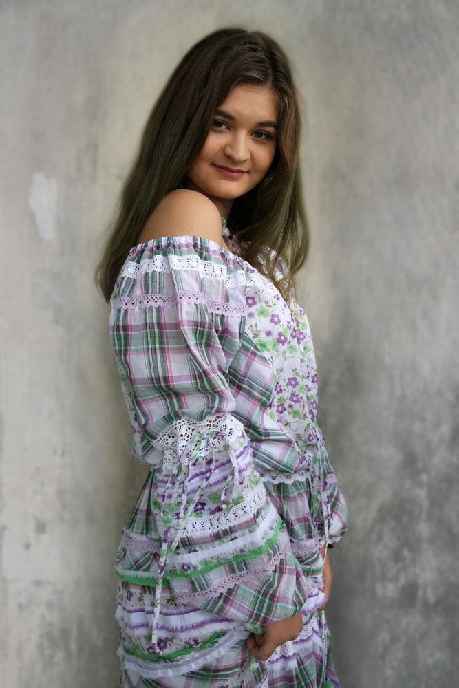 бохо платье, пастель