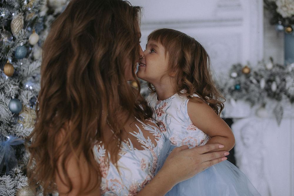 ангелина груздева, мама и дочка