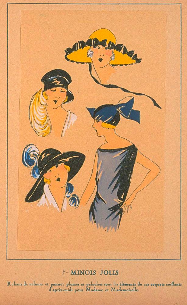 Ах, какие шляпки! Шляпная мода 1922 года по версии французского журнала «Les chapeaux du Tres parisien». Часть 2, фото № 30
