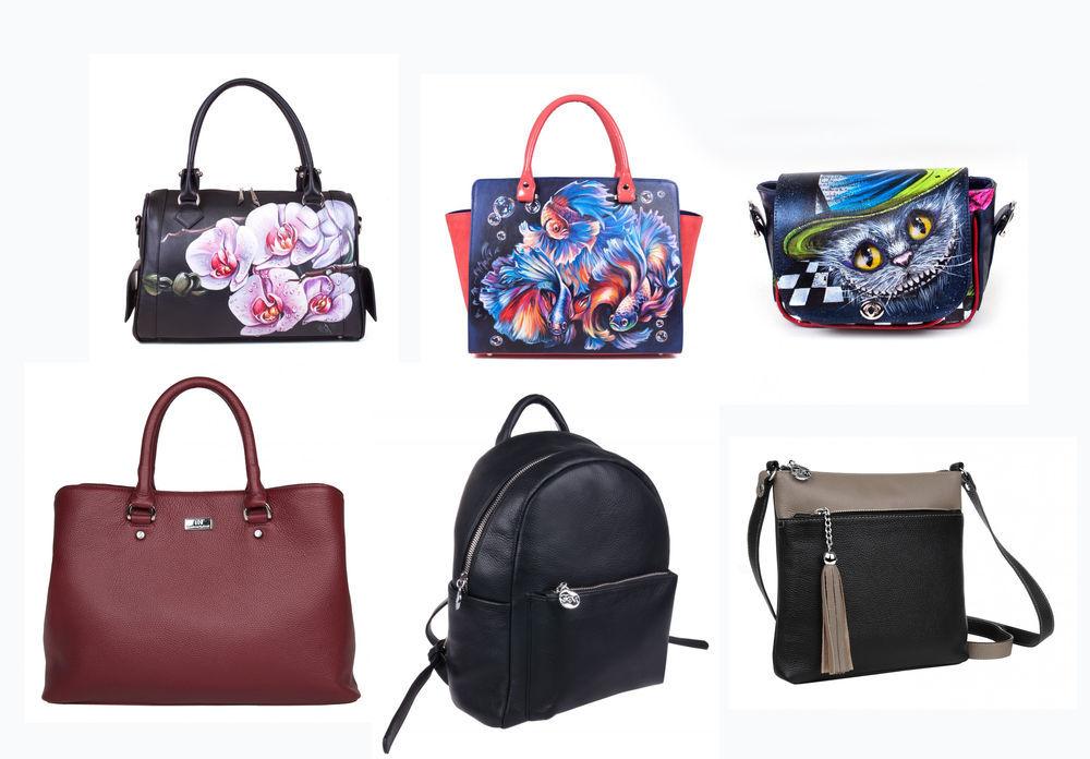 сумки с росписью, сумка на заказ, кожаная сумка