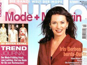 Парад моделей Burda Moden № 2/2001, Европейское Издание. Ярмарка Мастеров - ручная работа, handmade.