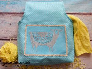 Мастерим удобную рукодельную сумочку с вышивкой. Ярмарка Мастеров - ручная работа, handmade.