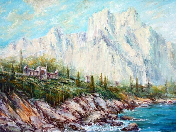 Горы Крыма на картинах мастеров живописи | Ярмарка Мастеров - ручная работа, handmade