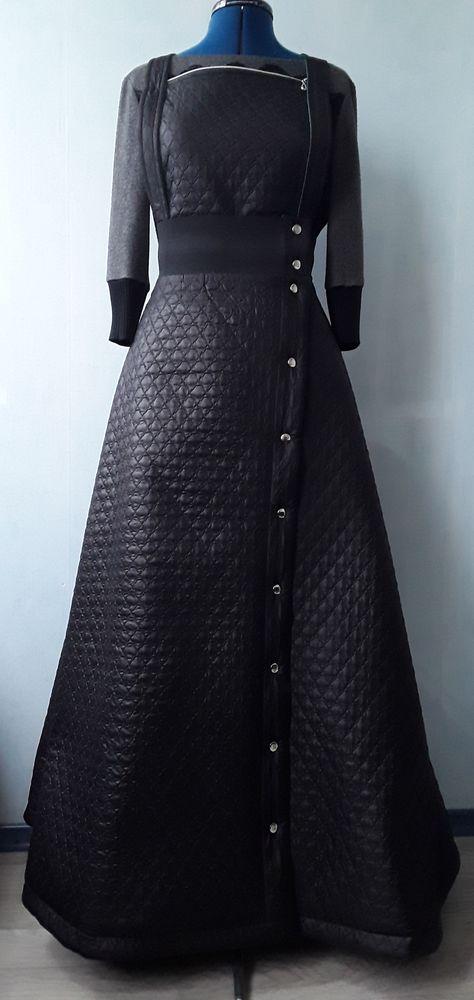 юбка из стеганой плащевки, юбка на заказ