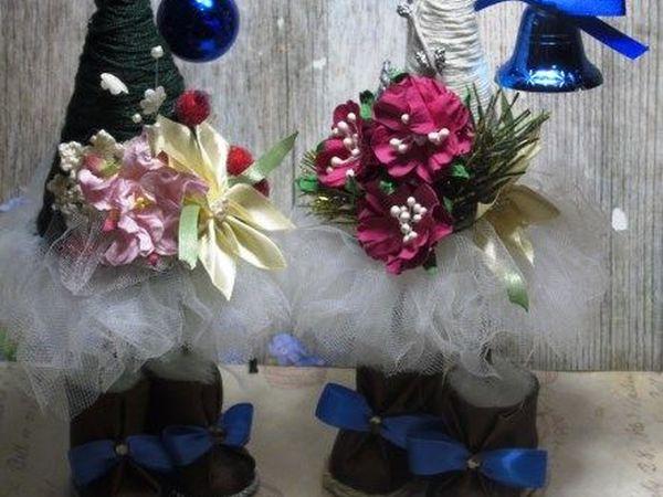 Видео мастер-класс «Елка-топотушка на ножках»   Ярмарка Мастеров - ручная работа, handmade