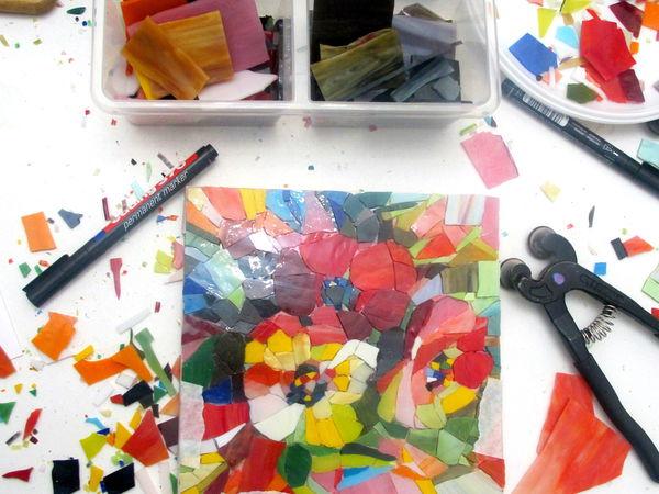 Мозаика. Картина-панно 20х20 СМ | Ярмарка Мастеров - ручная работа, handmade