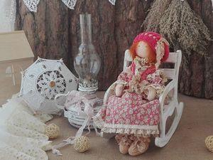 Ульяна))  Интерьерная кукла ручной работы.. Ярмарка Мастеров - ручная работа, handmade.