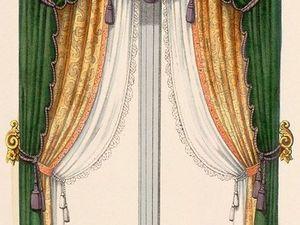 Красивые и разнообразные эскизы для штор. Ярмарка Мастеров - ручная работа, handmade.