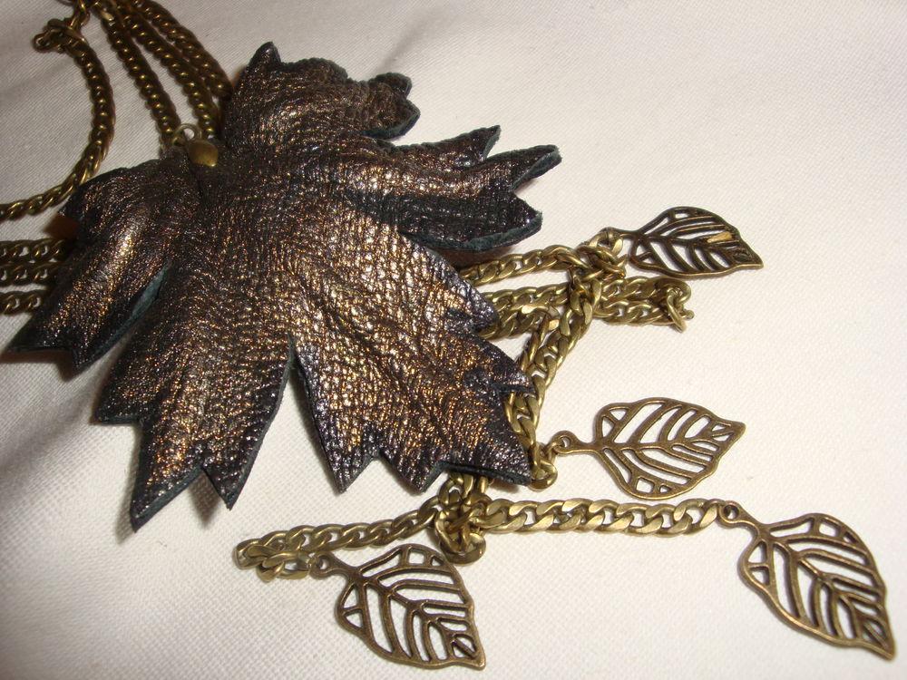 новые украшения, осенняя коллекция, бусы из кожи