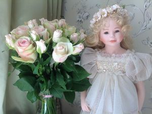 Цветы для нашей красавицы. | Ярмарка Мастеров - ручная работа, handmade