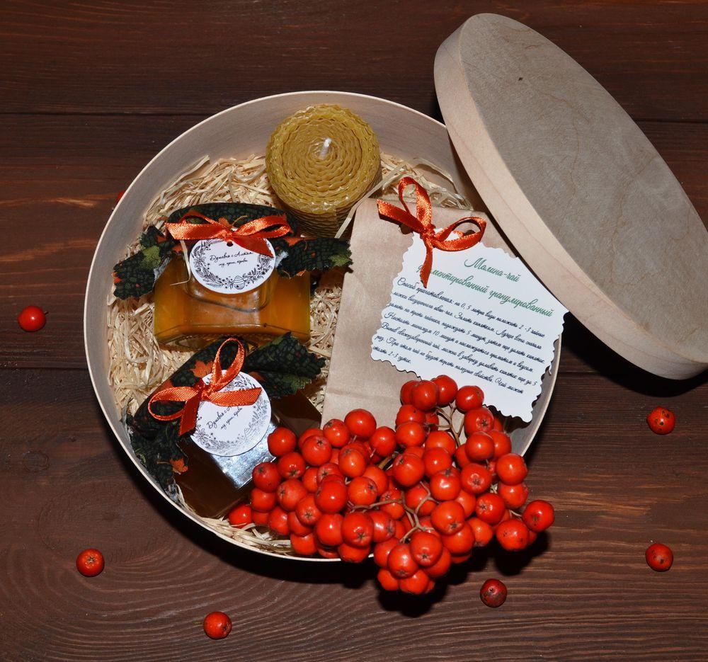 подарок ко дню учителя, подарок, ягоды рябины