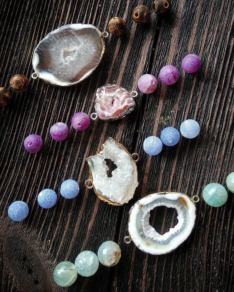 натуральные камни, жеода