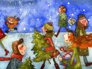Новогодние каникулы. Ярмарка Мастеров - ручная работа, handmade.