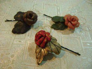 Цветы из кожи от Оксаны Буряк | Ярмарка Мастеров - ручная работа, handmade