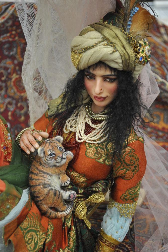 Международный салон кукол в Москве. Часть вторая