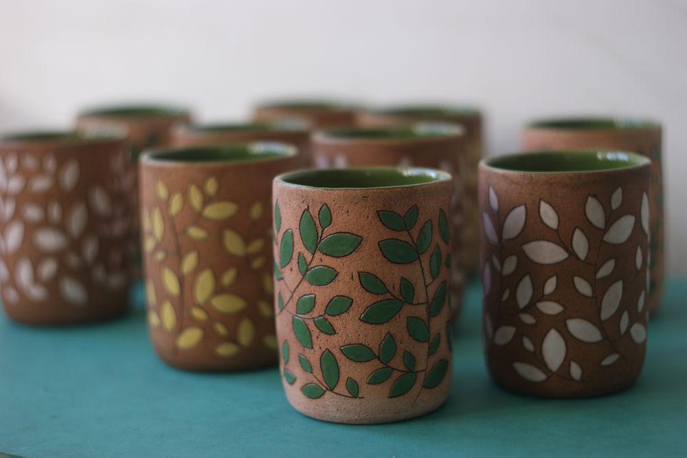 стаканы, керамика