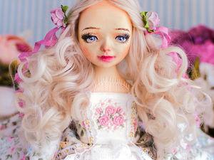 Джейн авторская, интерьерная кукла, будуарная кукла, декор дома, подарок любимой, подарок на день рождения, текстильная кукла. Ярмарка Мастеров - ручная работа, handmade.