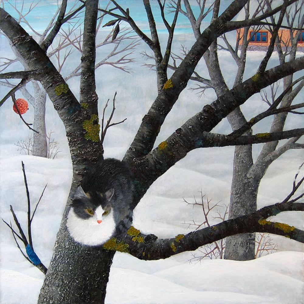 Удивительные сказочные картины художницы Ольги Кваши, фото № 15