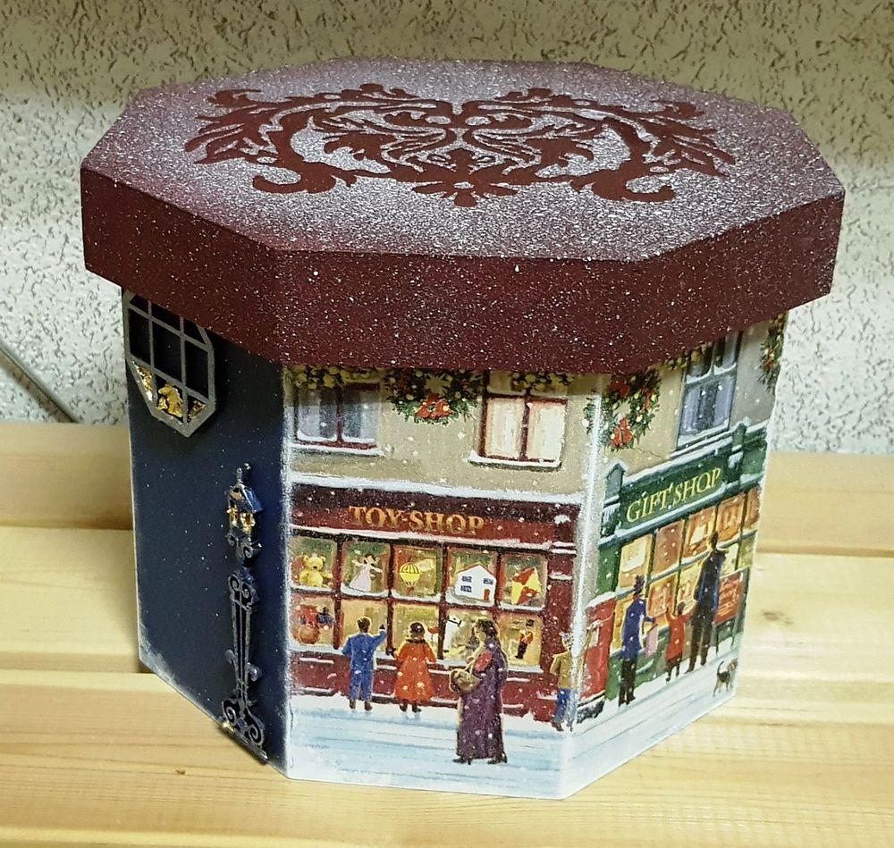 «В ожидании праздника»  короб для елочных игрушек, фото № 2