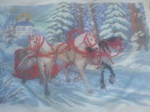 Новогодние вышивки. Заказываем). Ярмарка Мастеров - ручная работа, handmade.