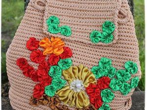 Украшаем летний рюкзак или сумку морским декором. Ярмарка Мастеров - ручная работа, handmade.