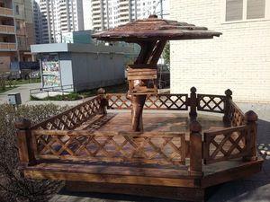 оригинальная кормушка для голубей | Ярмарка Мастеров - ручная работа, handmade