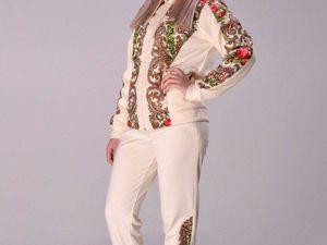 Спортивные костюмы в русском стиле | Ярмарка Мастеров - ручная работа, handmade