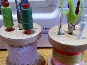 Мастерим из дерева органайзер «Катушка». Ярмарка Мастеров - ручная работа, handmade.