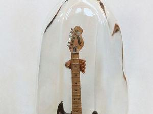 Единственная гитара в бутылке. Ярмарка Мастеров - ручная работа, handmade.