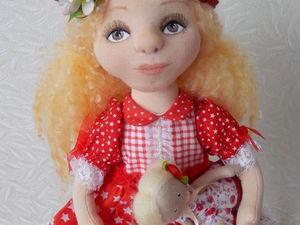 Ксюша! Новая куколка в моем магазине. Ярмарка Мастеров - ручная работа, handmade.