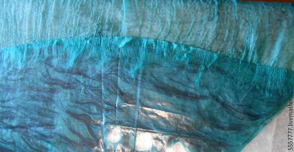 Создаем оригинальную тунику из марли и шерсти, фото № 18