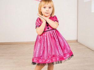 Платья для девочки   Ярмарка Мастеров - ручная работа, handmade