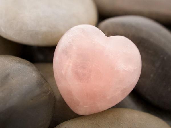 Розовый кварц Приносящий любовь, фото № 8