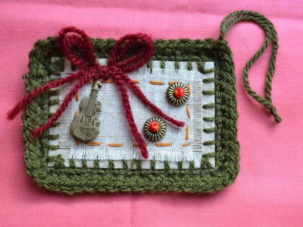 Бирочка для вязаных изделий. Ярмарка Мастеров - ручная работа, handmade.