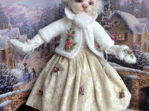 Отчет об МК - Кукла-кошка | Ярмарка Мастеров - ручная работа, handmade
