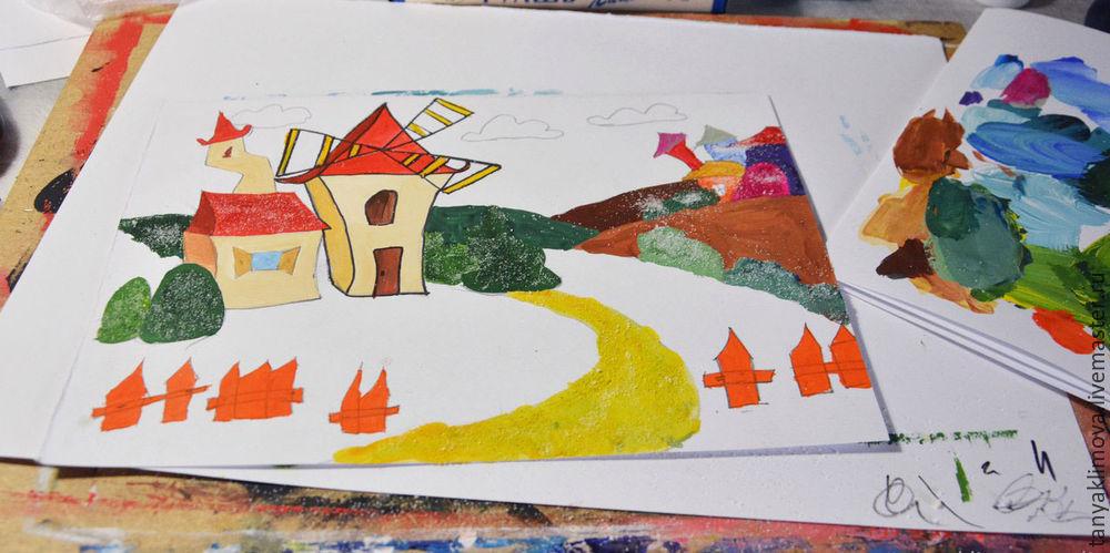 Развиваем детей с помощью аппликации «сказочный город», фото № 15