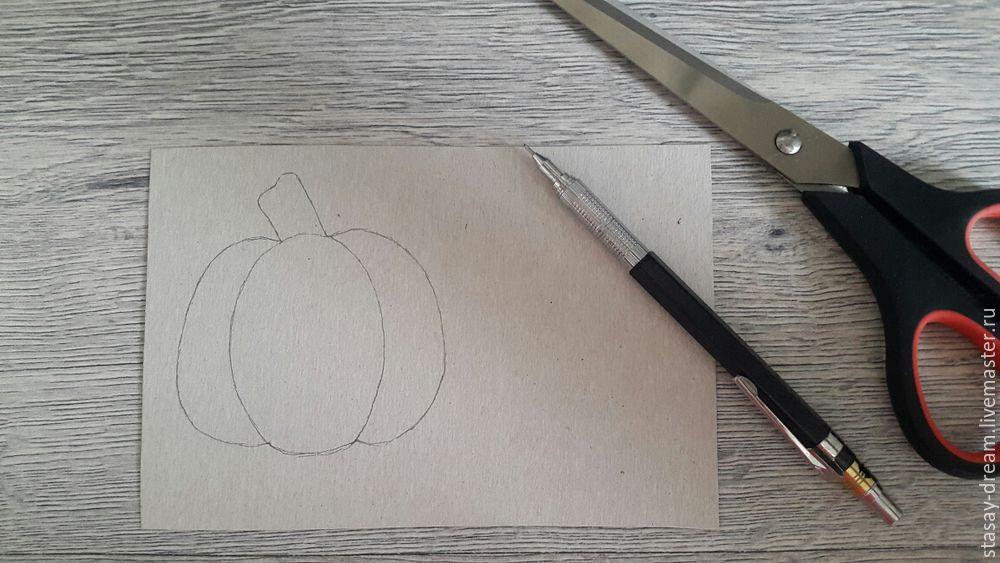 Sewing a Pumpkin Brooch, фото № 1