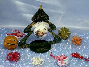 Новогодние интерьерные елочки. Ярмарка Мастеров - ручная работа, handmade.