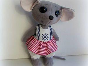 Мышка Маришка, или как я избавилась от хандры. Ярмарка Мастеров - ручная работа, handmade.