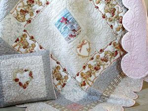 Мастер-класс по пошиву детского одеяла с вышивкой. Часть 2. Ярмарка Мастеров - ручная работа, handmade.