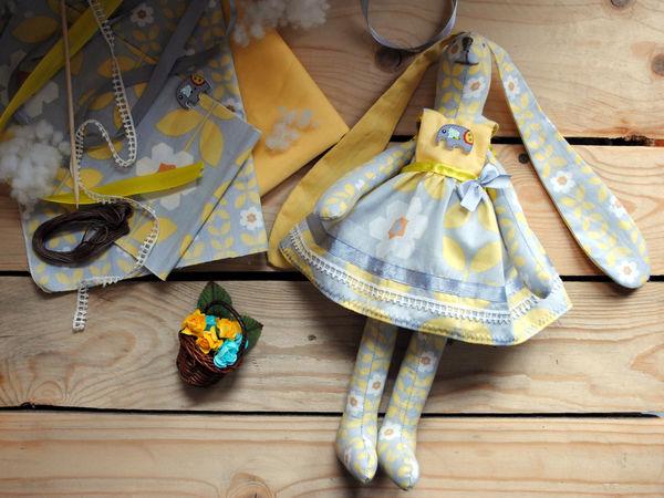 Шьем зайца Тильду | Ярмарка Мастеров - ручная работа, handmade