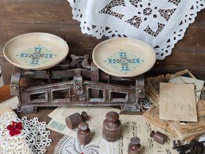 Преображение стареньких весов. Ярмарка Мастеров - ручная работа, handmade.