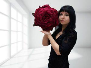 Приглашение на Конкурс-Розыгрыш сумочки-розы в цветнике   Ярмарка Мастеров - ручная работа, handmade