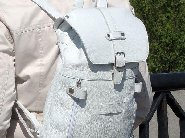Скидки на светлые рюкзаки до 03.06.2018 | Ярмарка Мастеров - ручная работа, handmade