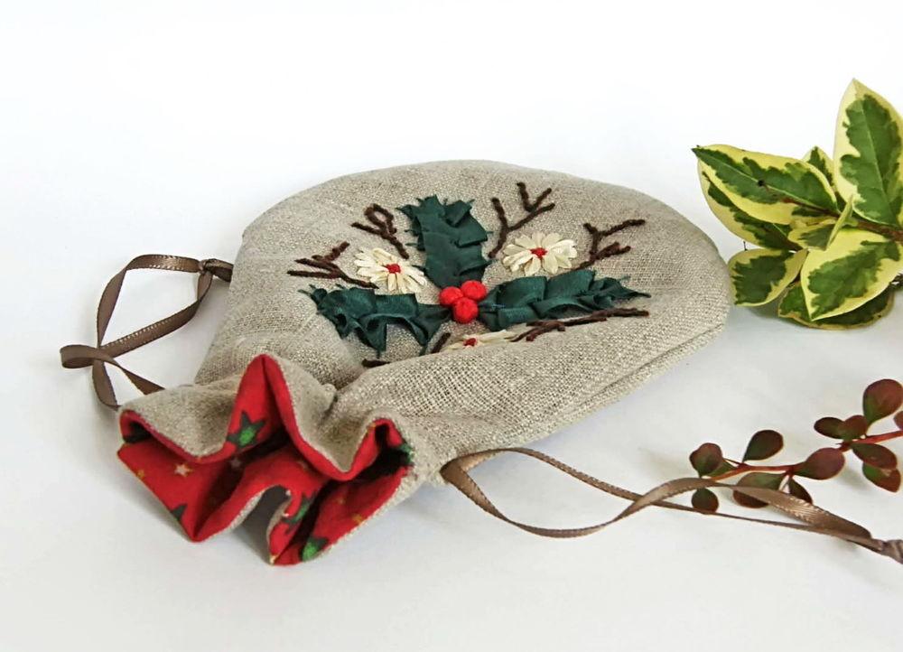 Оригинальные мешочки для подарков своими руками 28